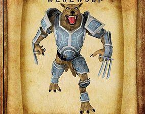 3D asset Werewolf for Unity