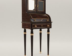 3D Neoclassical cylinder bureau - France - 19th century
