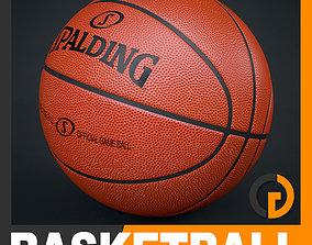Spalding Official Game Ball 3D equipment