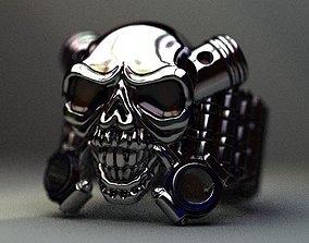 Scull chain transmission 3D printable model