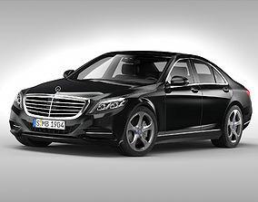 Mercedes Benz S Class 2014 3D