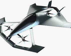 3D The Aston Martin Volante Vision Concept