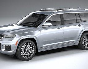 3D model Jeep Grand Cherokee L 2021
