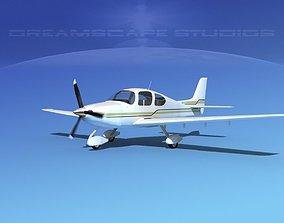 3D model Cirrus SR22 V02