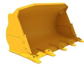 3D model dig Excavator Bucket