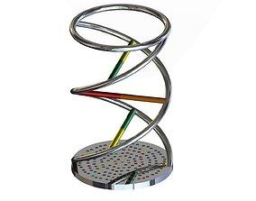 DNA Pencil Holder 3D print model