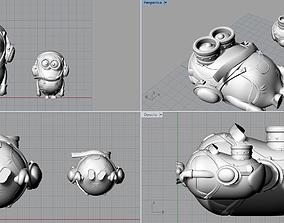 MINIONS 3D printable model popular