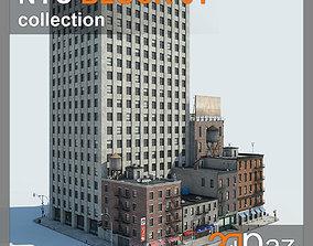 NYC Block 01 3D asset