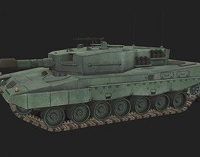 Leopard 2 3D asset game-ready