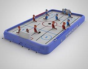 Hockey 3D model