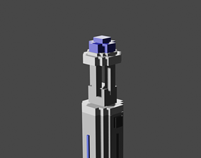 10 Doctors Sonic Screwdriver 3D model