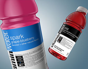 game-ready 3D Bottle Vitamin Water model