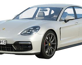3D model Porsche Panamera GTS 2019
