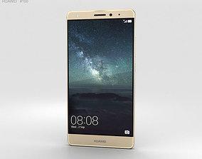 3D Huawei Mate S Luxurious Gold