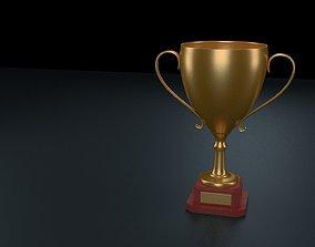 3D model Golden Trophy 1