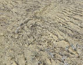 Desert Wasteland ground PBR Pack 3 3D