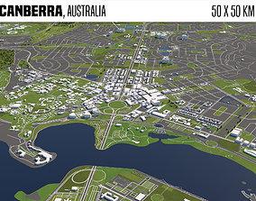 3D Canberra Australia 50x50km