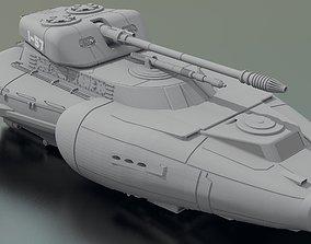 S-1 FireHawke Heavy Repulsortank 3D model