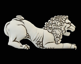 3D print model Lion CNC