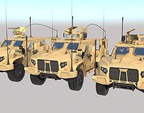 3D asset OSHKOSH JLTV Heavy Carrier PBR