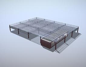3D model Building EDDF Storages32 Frankfurt Airport