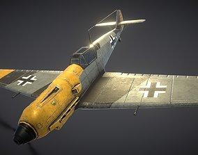 Messerschmitt BF109E 3D asset
