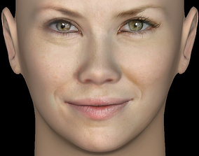 Head Model 01 - Evangeline Lilly