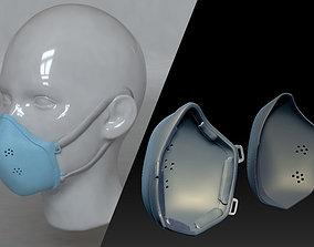Medical mask v2 3D print model