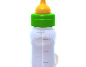 Baby Bottle 3D