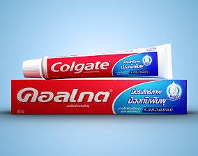 3D Toothpaste bathroom