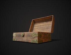 3D asset PBR Aged Jewellery Box