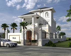 3D model Modern Villa Design