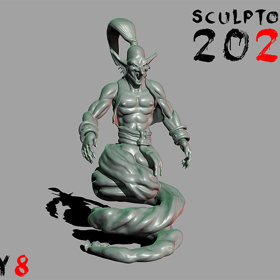 Sculptober Dya 08