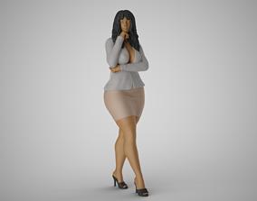 3D print model Captive Beauty