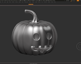 halloween pumpkin 03 3D print model
