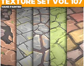 Stylized Textures Vol 107 - Game PBR Textures 3D asset