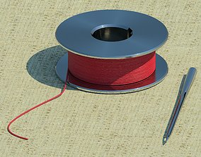 3D Needle and thread