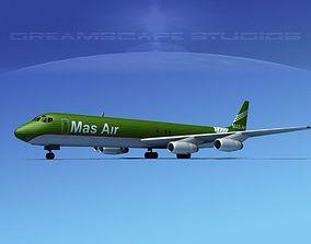 3D Douglas DC-8-63F MasAir