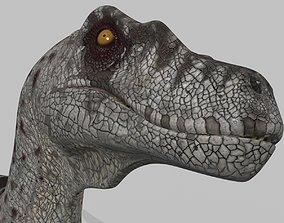 3D Female Alpha Raptor - 8K