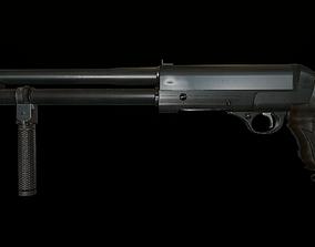 3D asset game-ready weapons Shotgun