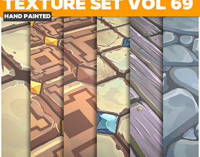 3D model Tiles Vol 69 - Game PBR Textures