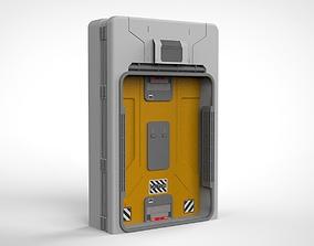 sci fi door 15 3D model