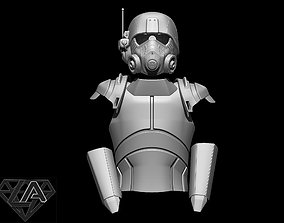3D print model Fallout NCR Ranger combat armor