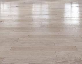 Oak Natural light floor 2 3D