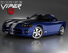 3D Dodge Viper srt 10