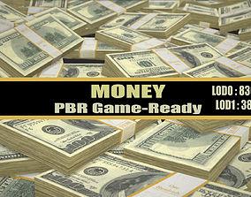 3D model Money Dollars