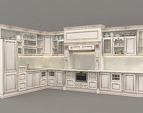 3D European Style Kitchen 3