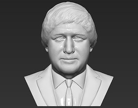 Boris Johnson 3D printing ready stl obj formats