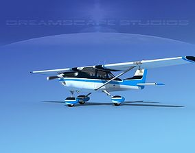 3D Cessna 172 Skyhawk 1967 V07