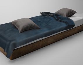 3D model Single Modern Bed